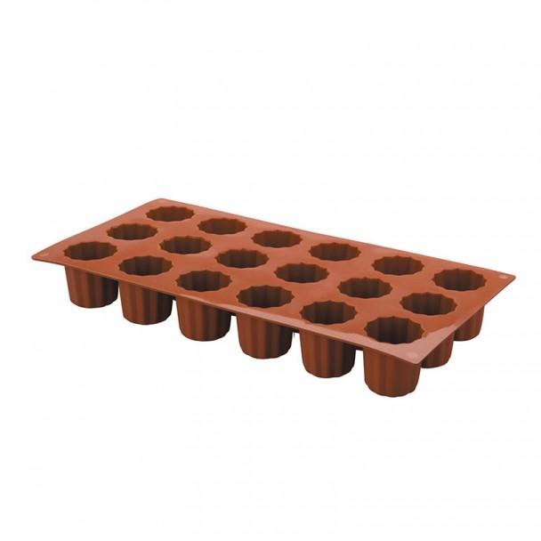 Molde Os Mini Bordelais 18 Cavidades Silicone Pastryflex
