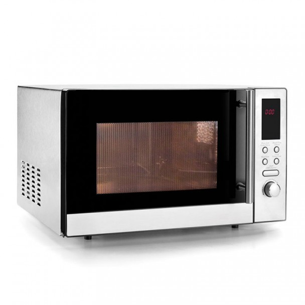 Forno micro-ondas 21 L com Prato Giratório + Grill