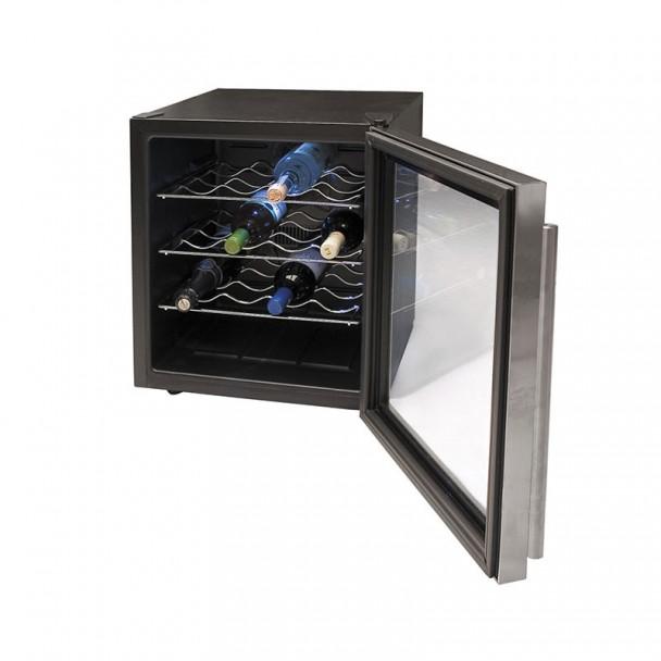 Armário Refrigerador Elétrico 46 l/70 W - 16 Garrafas Inox Line
