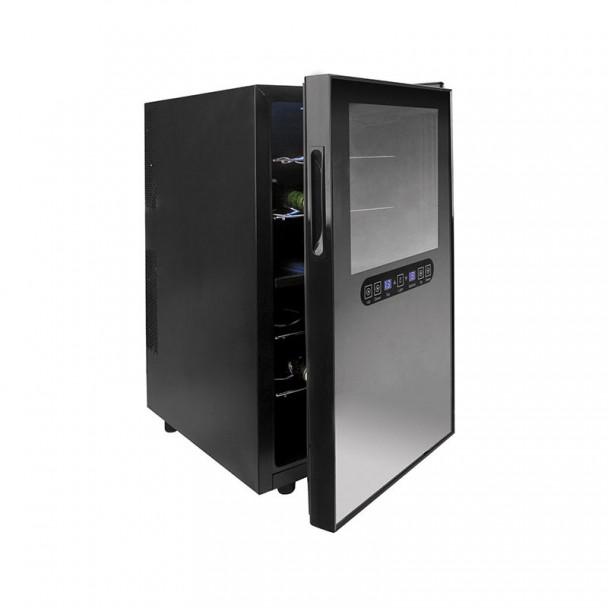 Armário Refrigerador Elétrico 48 l/100 W - 18 Garrafas Black Line
