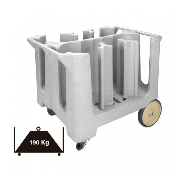Caminhão Portaplatos Polipropileno 190 kg
