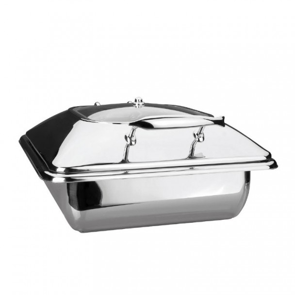 Corpo Chafing Dish Luxe Gastronorm Em Inox, 2/3