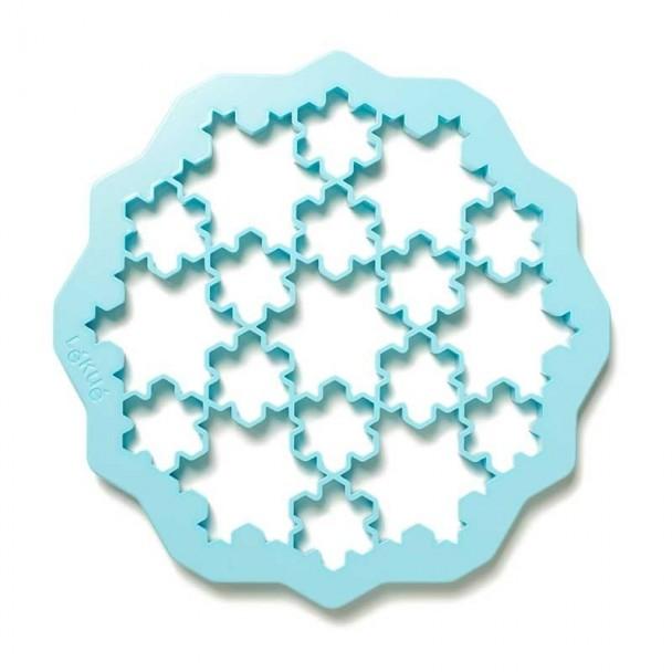 Molde Cortador de Biscoitos Flocos de Neve