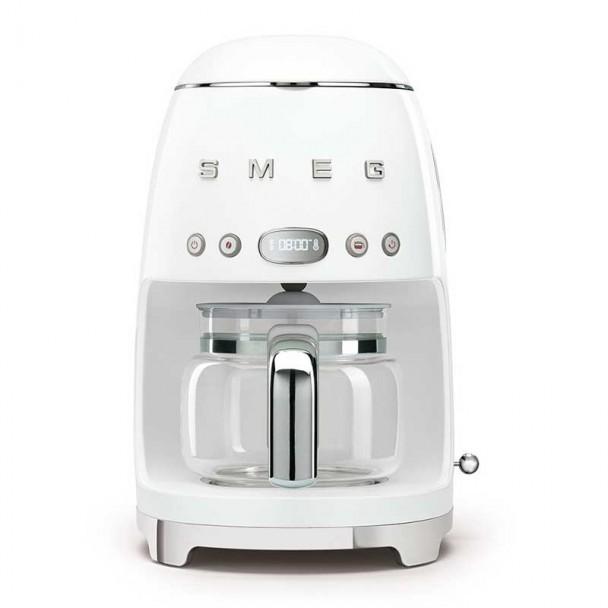 50's estilo branco gotejamento cafeteira